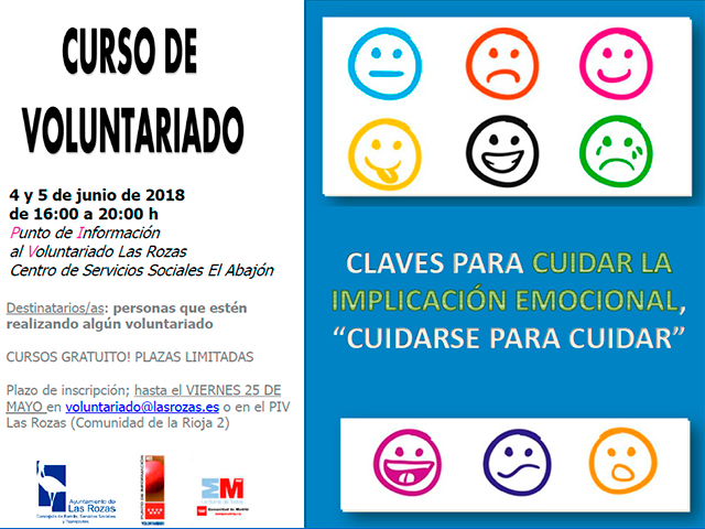 Curso de voluntariado 4 y 5 de junio