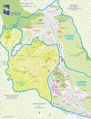 Las Rozas Madrid Mapa.Distrito Sur Ayuntamiento De Las Rozas De Madrid